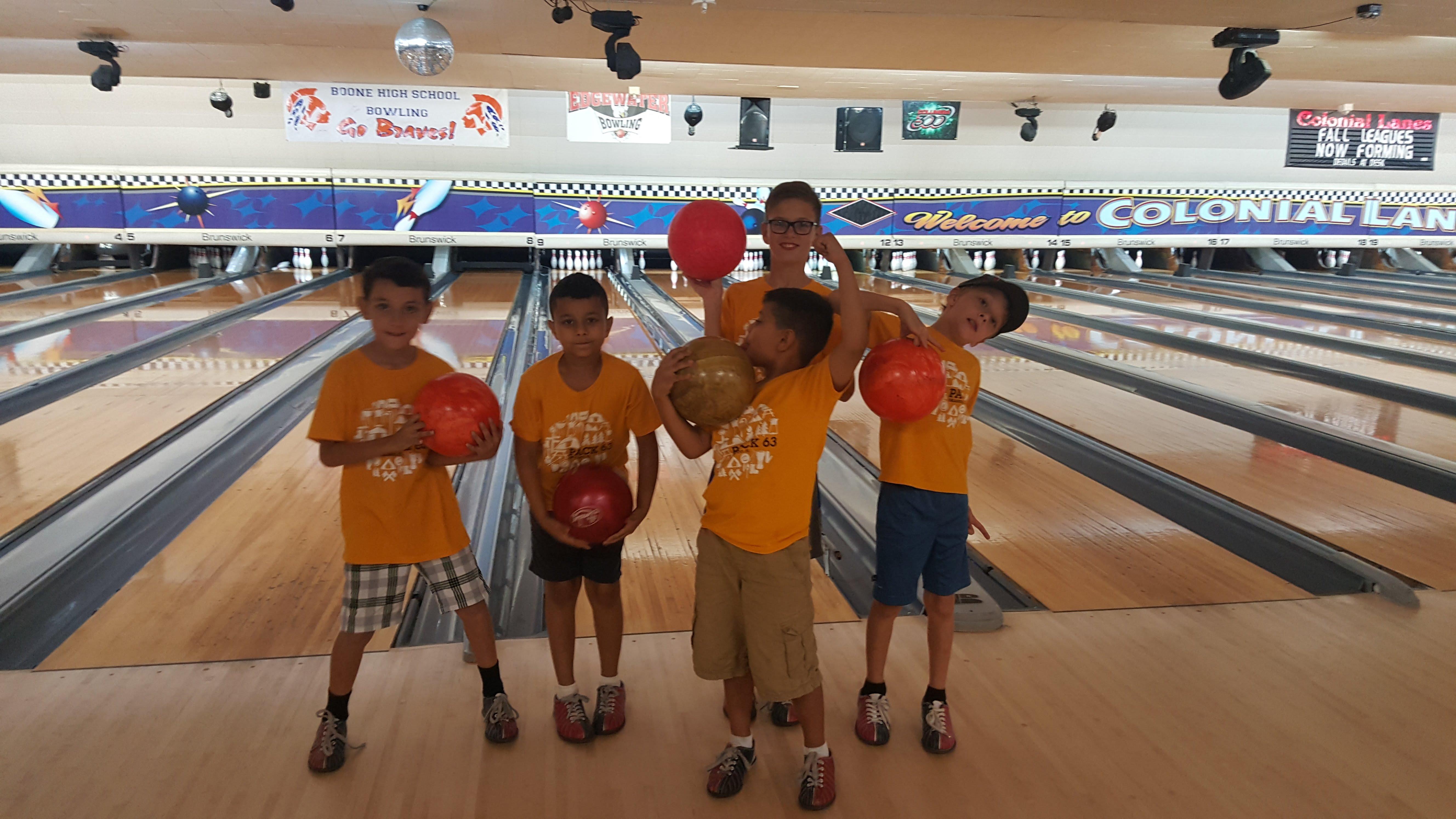Bowling Night - Cub Scouts - Pack 63 Orlando, FL