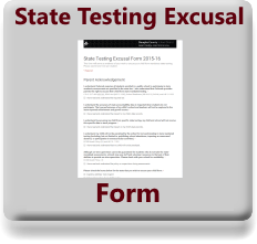 Google Form to exempt from testing