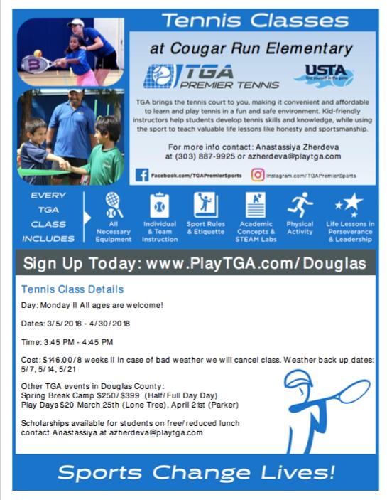 TGA Tennis