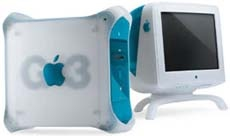 Apple Power Macintosh G3/350 (Blue & White)
