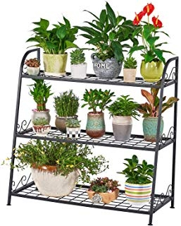 3 Tier Indoor Outdoor Metal Plant Stand
