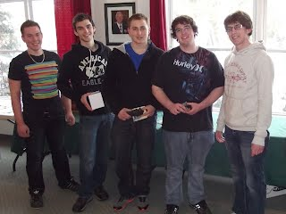 "2012 Lakeshore Bonspiel section ""B"" consolation final winners"