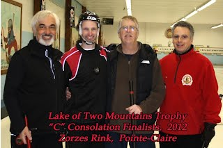 "2012 Lakeshore Bonspiel section ""C""  consolation runners up"
