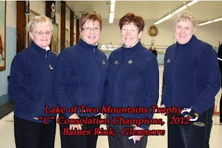 "2012 Lakeshore Bonspiel section ""C"" consollation winners"