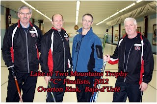 "2012 Lakeshore Bonspiel section ""C"" runners up"
