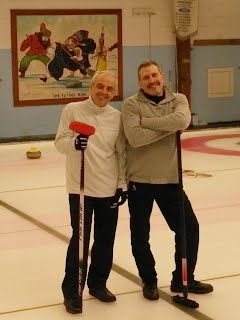 Having fun during the 2017 Lakeshore Bonspiel