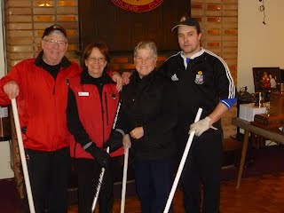 "2014 Lakeshore bonspiel ""D"" division consolation runner-up team"
