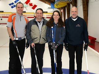"""2016 Lakeshore Bonspiel """"B"""" division consolation runners up"""