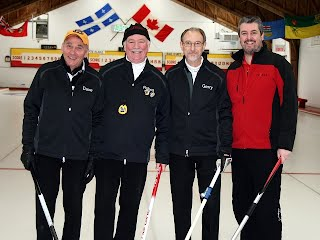 """2016 Lakeshore Bonspiel """"B"""" division runners up"""