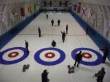 Link to photos of action on the ice at Poite-Claire curling club