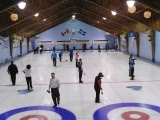2014 Lakeshore bonspiel Glenmore CC action on the ice