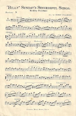 Billy Sundays Successful Songs Sheet Music