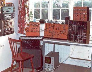 my synthesiser designs about 1976