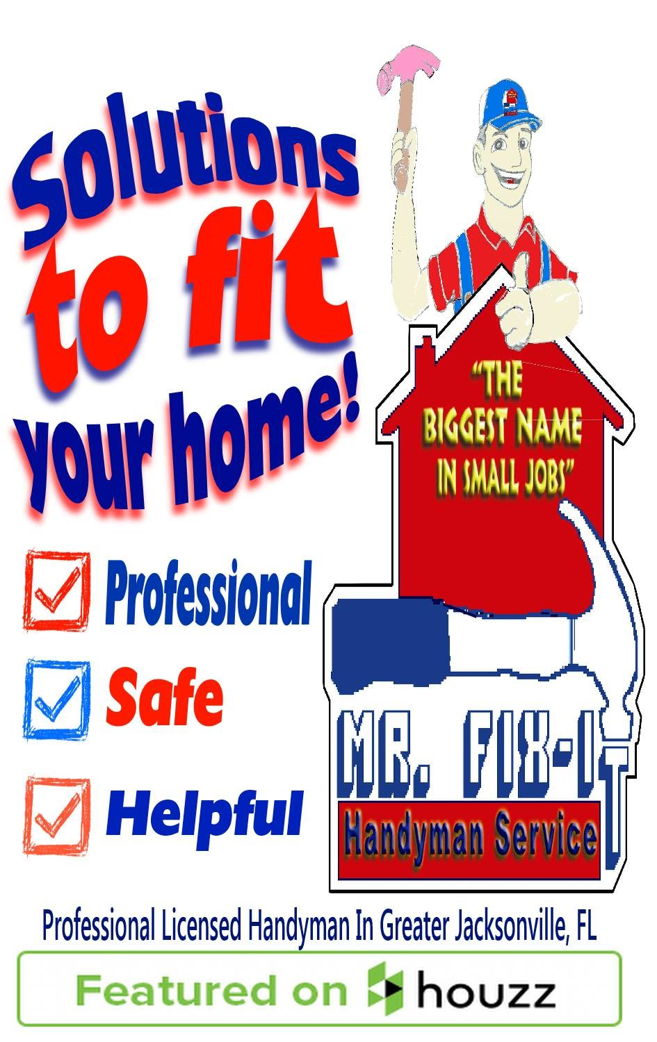 Services That We Offer Mr Fix It Handyman Service Of