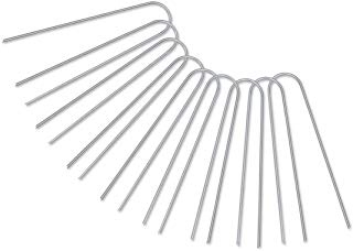 """4.5/"""" Landscape Pegs Secure Fabric Weed Barrier Fabric Stakes Landscape Staples"""