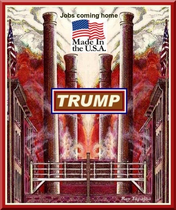 Made in USA - Its TRUMP Time in America