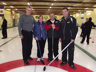 "2012 Town of Hudson Bonspiel ""A"" event runners up"