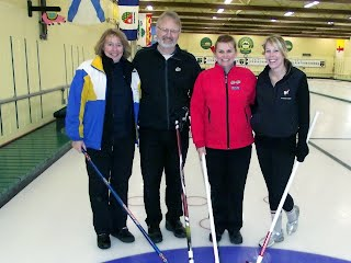 "2012 Town of Hudson Bonspiel  ""A"" event consolation runners up"