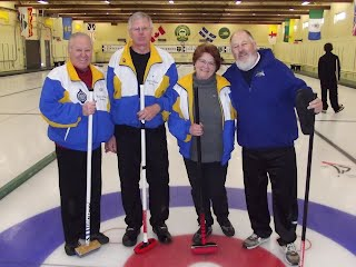 "2012 Town of Hudson Bonspiel ""B"" event runners up"