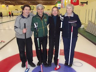 "2012 Town of Hudson Bonspiel ""C"" event runners up"