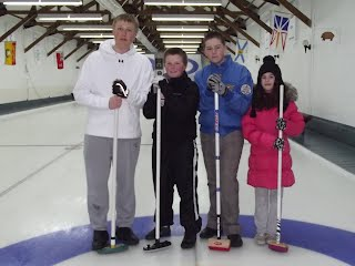 2012 Town of Hudson Junior Bonspiel consolation winners