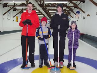 2012 Town of Hudson Junior Bonspiel consolation runners up