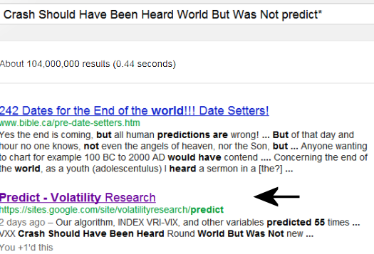 June 22, 1012  Since this page was first up 7 days ago, July 15, it is ranked #2 of 104 million pages on Google® Search searching  Crash Should Have Been Heard World But Was Not predict*.
