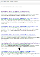 This page is ranked #5 of 1 billion pages on Google® Search searching How We Got In Top 10 Search* with 5 of our other pages in first 1-6