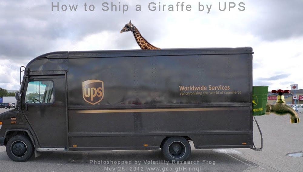 How to Ship a Giraffe by UPS