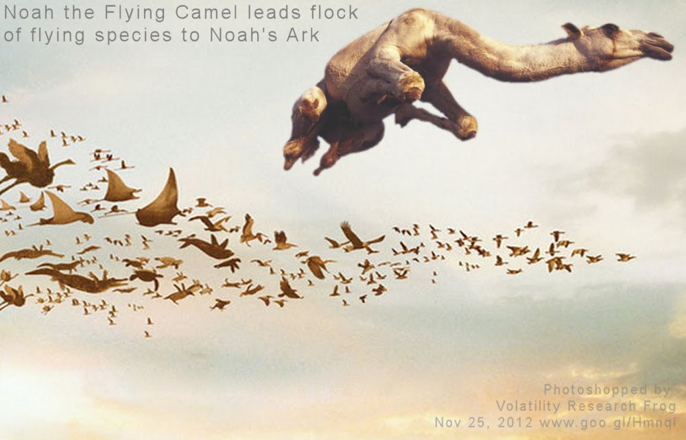 Nov 25, 2012   Noah the Flying Camel leads flock of flying species to real-Noah's Ark