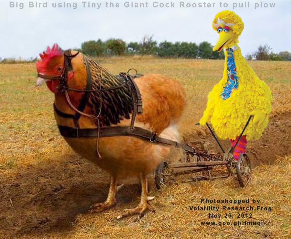 Nov 26, 2012  Big Bird using Tiny the Giant Cock Rooster to pull plow   Photoshopped by Volatility Frog Nov 26, 2012 www.goo.gl/Hmnqi