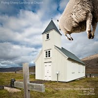 Dec 3, 2012  Flying Sheep Landing at Church   Photoshopped by Volatility Research Frog  Dec 3, 2012  www.goo.gl/Hmnqi