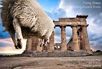 Dec 3, 2012  Flying Sheep Visiting Ancient Ruins   Photoshopped by Volatility Research Frog  Dec 3, 2012  www.goo.gl/Hmnqi