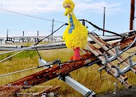 Dec 5, 2012  Big Bird Surveys Knocked Down High Voltage Power Lines   Photoshopped by Volatility Research Frog  Dec 5, 2012  www.goo.gl/Hmnqi
