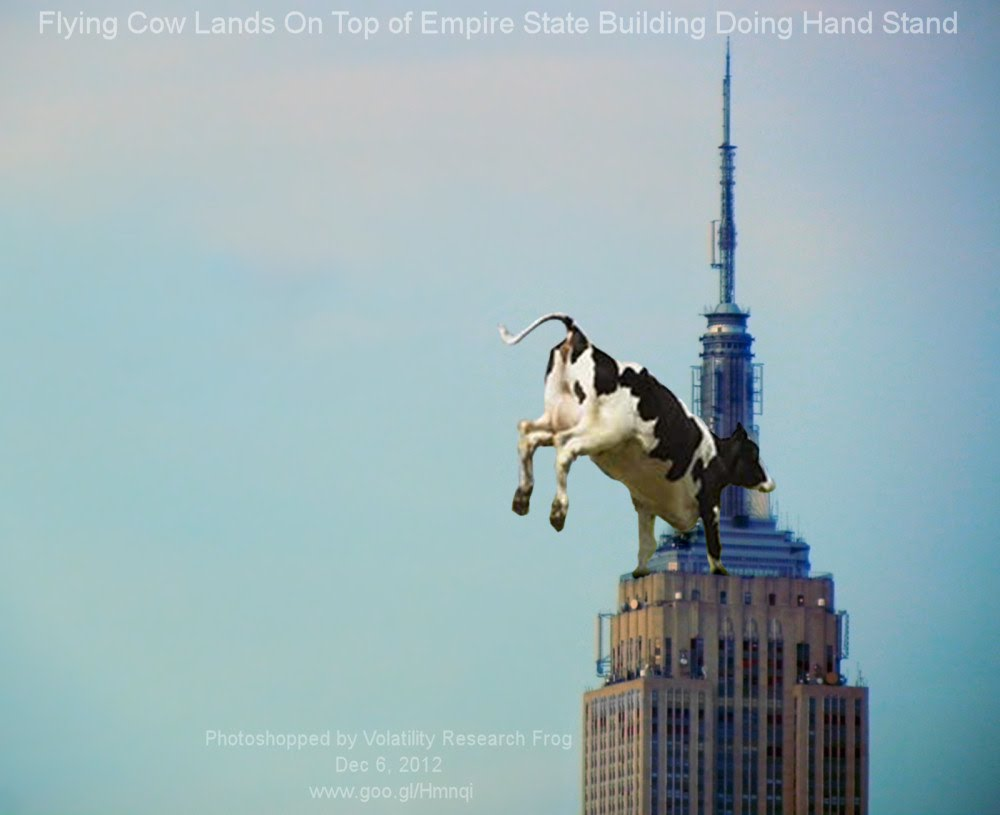 Dec 6, 2012  Flying Cow Lands On Top of Empire State Building Doing Hand Stand