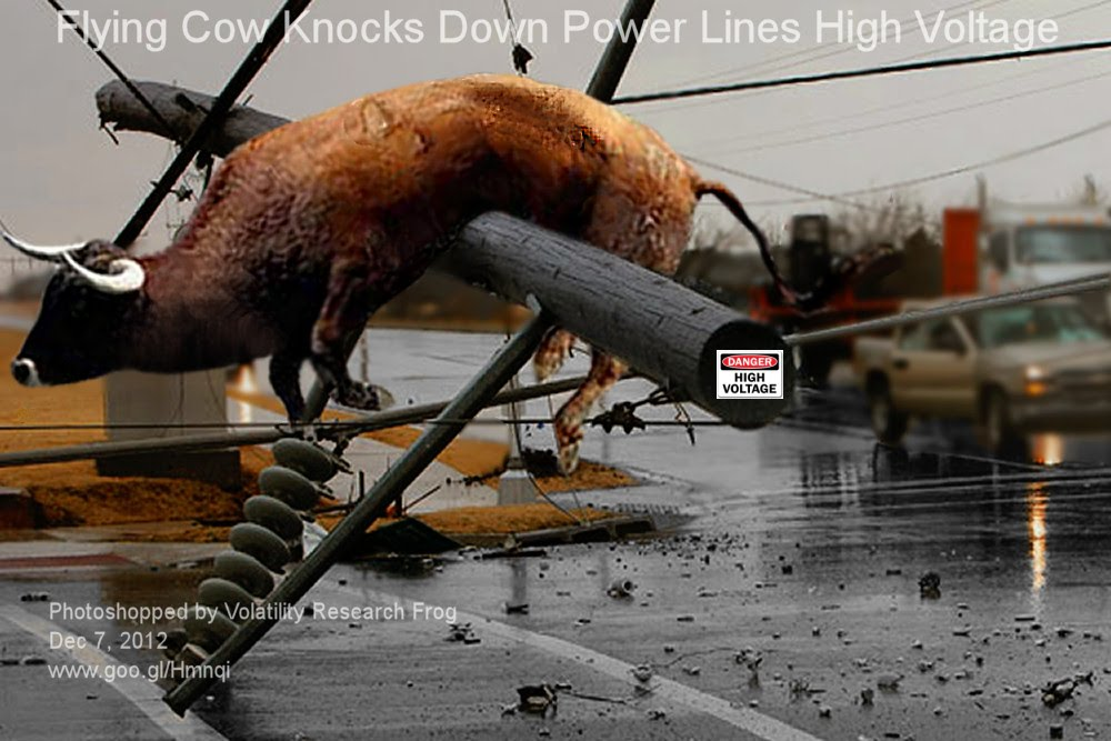 Dec 7, 2012  Flying Cow Knocks Down Power Lines High Voltage