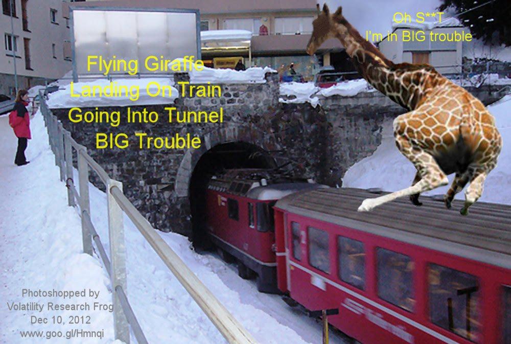 Dec 10, 2012  Flying Giraffe Landing On Train Going Into Tunnel BIG Trouble