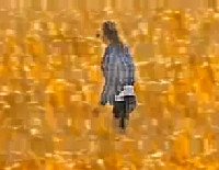 Who says women cannot float above corn fields?