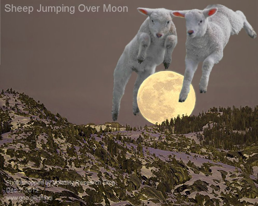 Dec 2, 2012  Sheep Jumping Over Moon    Photoshopped by Volatility Research Frog  Dec 2, 2012  www.goo.gl/Hmnqi