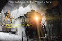 Dec 11, 2012  Flying Giraffe Landed On Train Will Crash In Tunnel