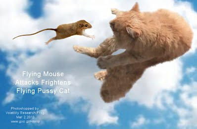 Flying Mouse Attacks Frightens Flying Pussy Cat (Volatility Research) 1000w
