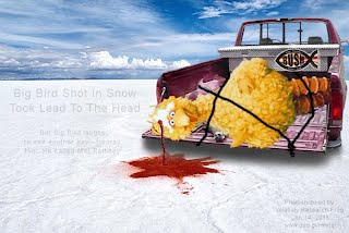 Big Bird Shot In Snow Took Lead To The Head (Volatility Research) 1000w