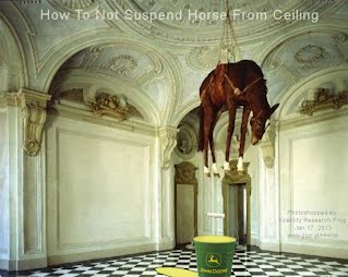How To Not Suspend Horse From Ceiling (Volatility Research) 1000w