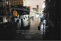 Giant Dolphin Seen Jumping Over Man At Ave C and 7th St in NYC Oct 30 2012 After Hurricane Sandy (Volatility Research) 1000w