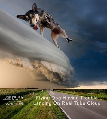 Flying Dog Having Trouble Landing On Real Tube Cloud (Volatility Research) 1000h