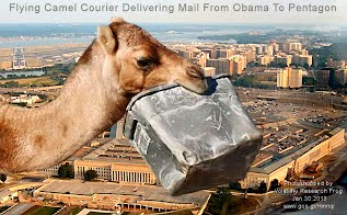 Flying Camel Courier Delivering Mail From Obama To Pentagon (Volatility Research) 1000w