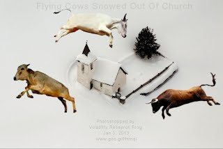Flying Cows Snowed Out Of Church (Volatility Research) 1000w