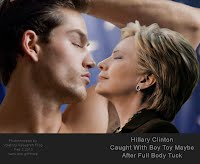 Hillary Clinton Caught With Boy Toy Maybe After Full Body Tuck  1000w