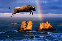 Flying Cow Under Rainbow (Volatility Research) 1000w