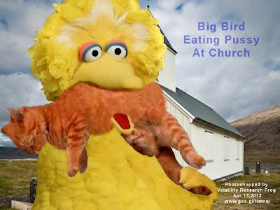 Big Bird Eating Pussy At Church (Volatility Research) 1000w